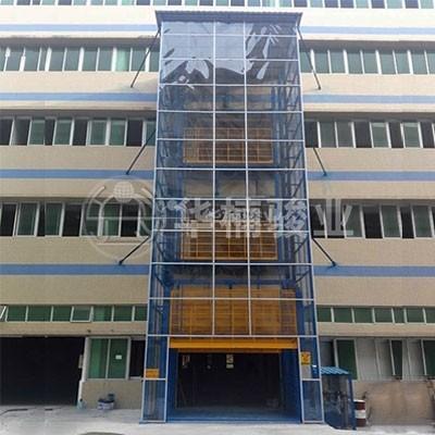 室外安装直顶式升降台系列
