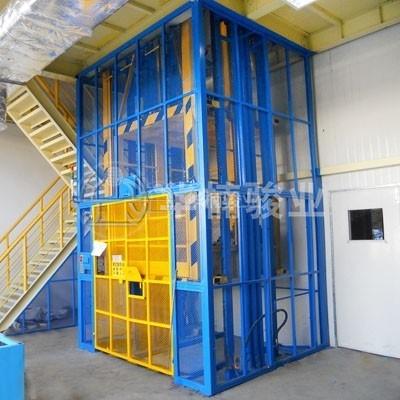 室内安装直顶式升降台系列