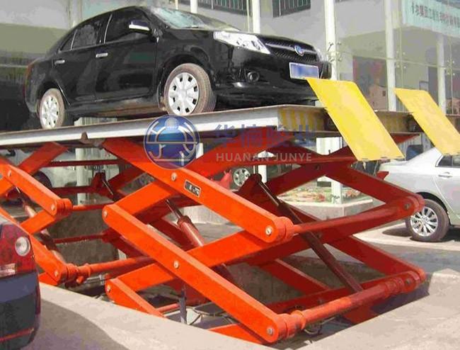 汽车升降平台升降力度降低的原因