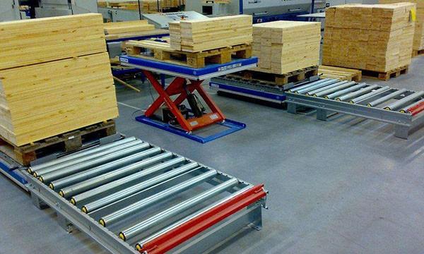 固定式装卸货物升降平台的产品简介