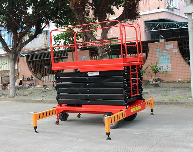移动式升降机不用的时候要怎么做保养